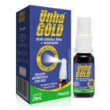 UNHA GOLD SPRAY 30ML