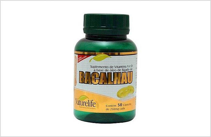 Óleo de Fígado de Bacalhau NATURELIFE 50caps