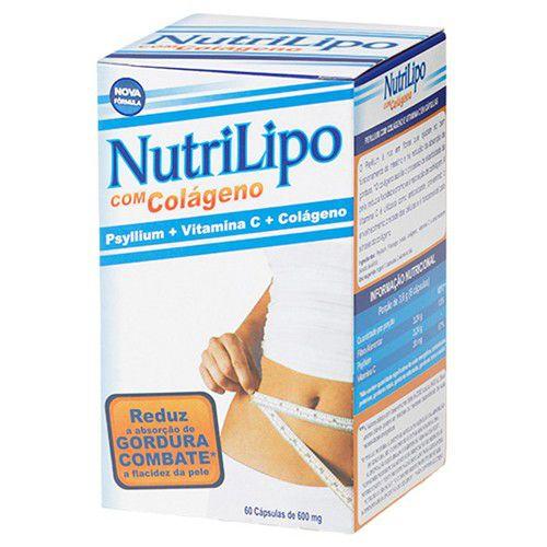 Nutrilipo com Colágeno 600mg com 60 cápsulas