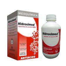 Hidroxido de Aluminio - HIDROXIMED 6%  240ML - Medquímica