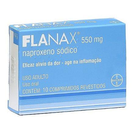 NAPROXENO 550MG 10cpr - FLANAX