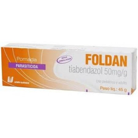 Tiabendazol - FOLDAN PMD 45GR