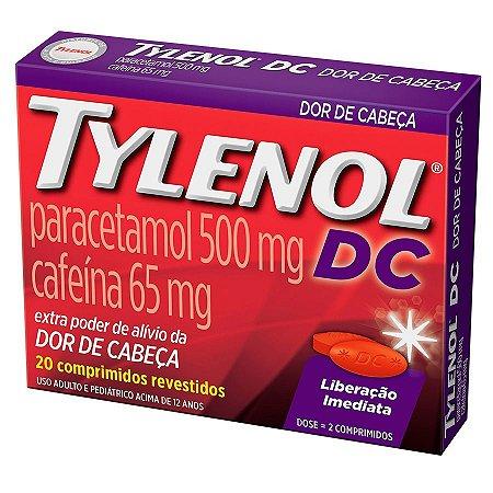 TYLENOL DC 20CPR