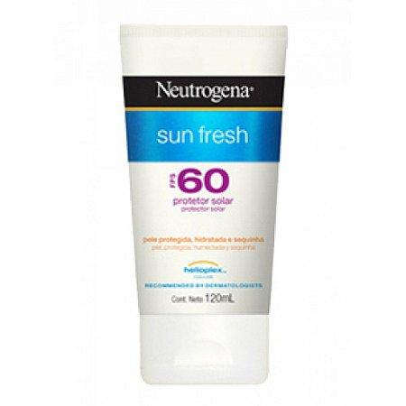 Neutrogena Bloqueador Solar Sun Fresh FPS 60 120mL