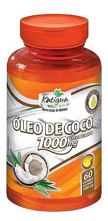Katiguá Óleo de Coco 1000mg 60 cápsulas