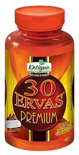 Katigua - 30 Ervas Premium 60 cápsulas