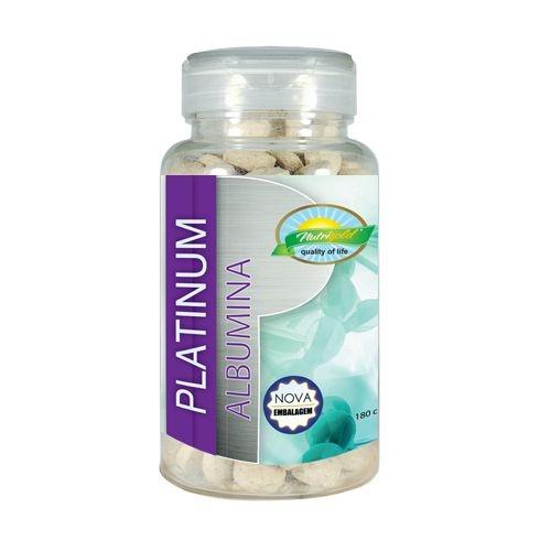 Albumina Platinum 180 comprimidos (800mg)