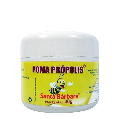 Pomada de Própolis 30g Santa Bárbara