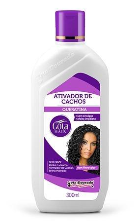 Ativador de Cachos Gota Hair Queratina 300ml