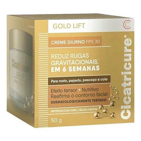 Creme Cicatricure Antissinais Gold Lift Diurno PFS 30 50g