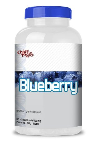 Chamais Blueberry 500mg 60cps