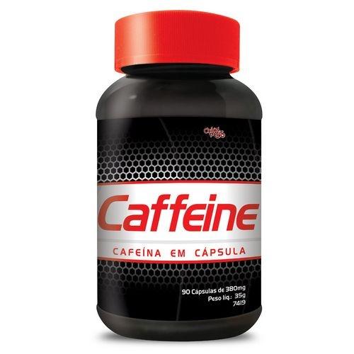 Cafeína Caffeine 90 Cápsulas De 380 Mg - Chá Mais