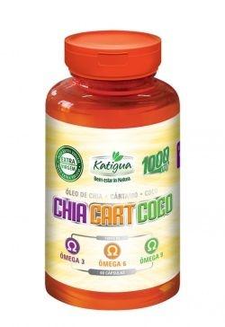 CARTAMO + COCO+ OLEO CHIA KATIGUA 1000mg  60Caps