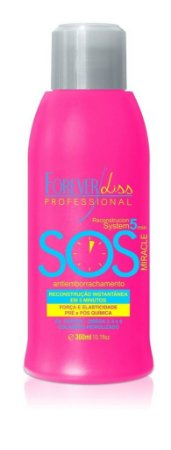 Forever Liss SOS Reconstrutor Capilar Antiemborrachamento 300ml