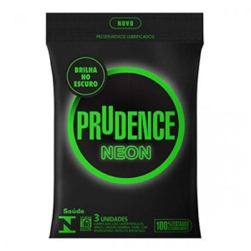 Preservativo Prudence Plus Neon 3UN