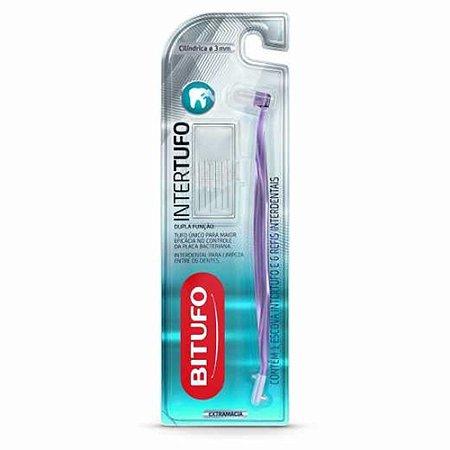 Escova Bitufo Intertufo Cilindrica 3mm 6un