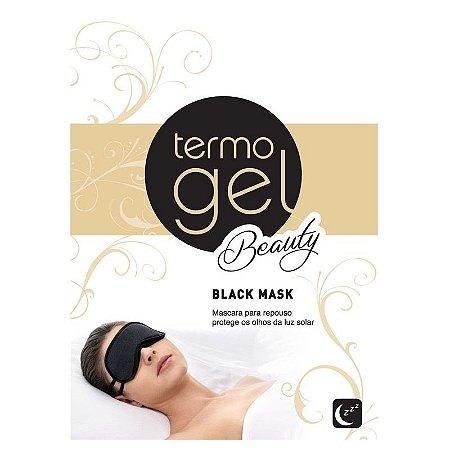 MASCARA DE DORMIR TERMOGEL BLACK MASK