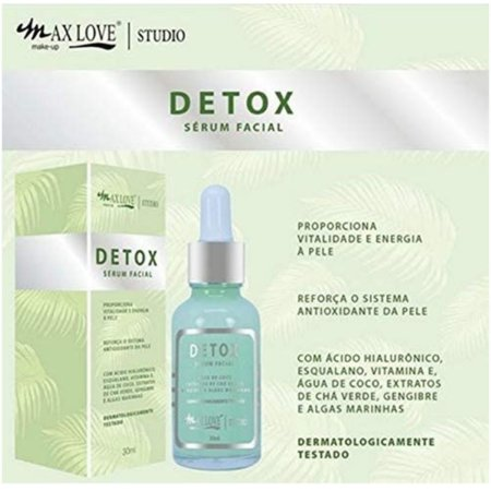 Max Love Serum Facial Detox 30mL