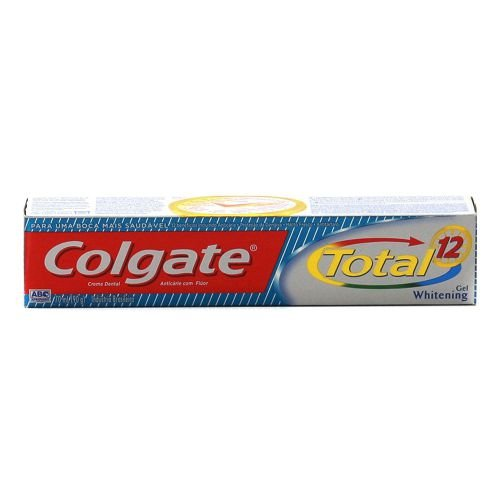 Creme Dental Colgate Total 12 Whitening Gel 90g