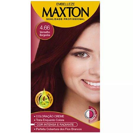 Tintura Maxton 4.66 Vermelho Borgonha (Especial)