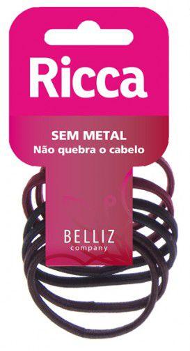 RICCA ELASTICO P/ CABELO C/ 10 REF. 896
