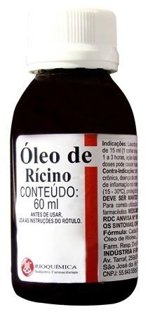 Óleo de Rícino Rioquímica 60mL