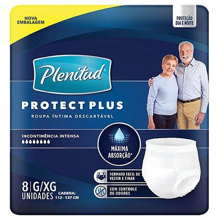 Fralda Plenitud Pants Protect Plus G/XG c/8 unid.