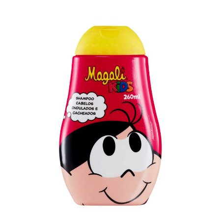 Shampoo Turma Da Monica Magali Cacheado/Ondulado 260ml