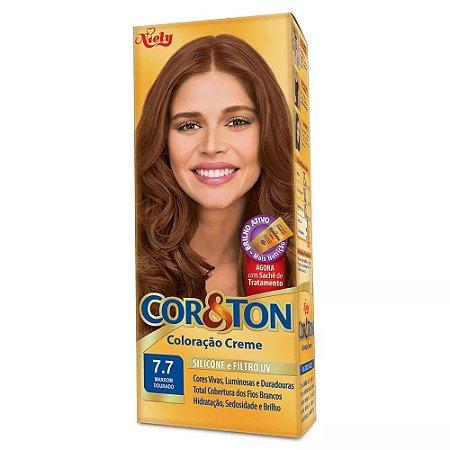 Tintura Cor&Ton 7.7 marrom dourado