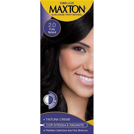 Tintura Maxton 2.0 Preto Natural