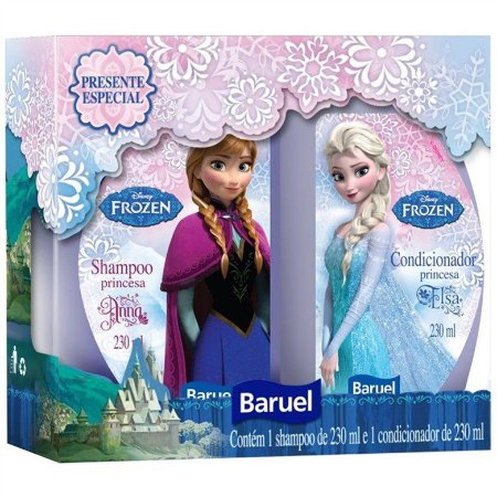 Kit Baruel Disney Frozen Sh + Cond 230ml cada