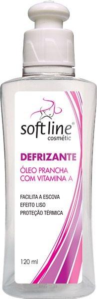Defrizante Oleo p/ Pracha c/Proteçãio Térmica Softline 120ml