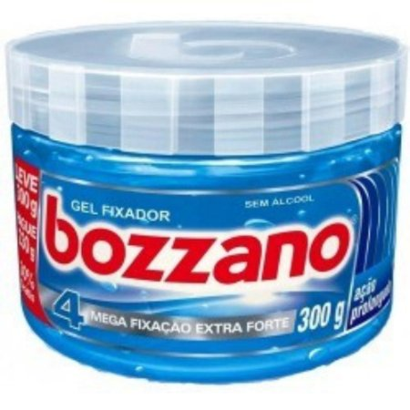 Gel Fixador Bozzano 300grs Azul Mega Fixação