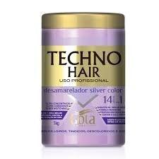 Creme de Tratamento Techno Hair Desamarelador 500g