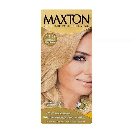 Tintura maxton kit 11.0 Louro Super Claro Natural
