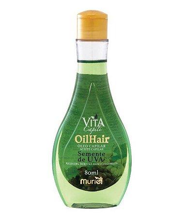 Oleo Capilar Vita Capili Semente de Uva 80ml - Muriel