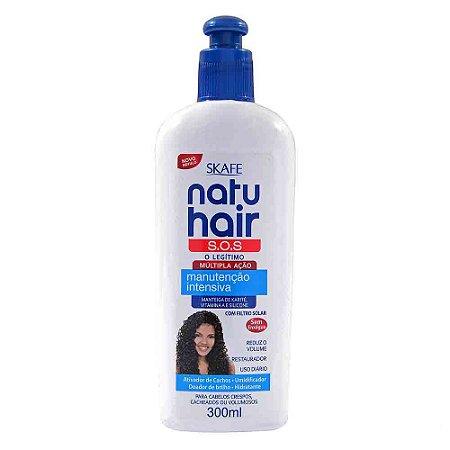 Creme Natu Hair Manutenção Intensa S.O.S SKAFE 300ml