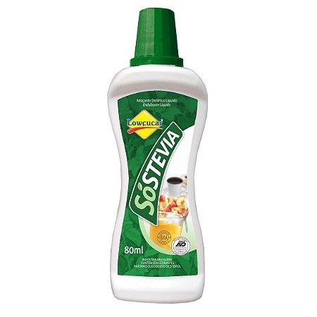 Adoçante Só Stevia 80ml lowçucar