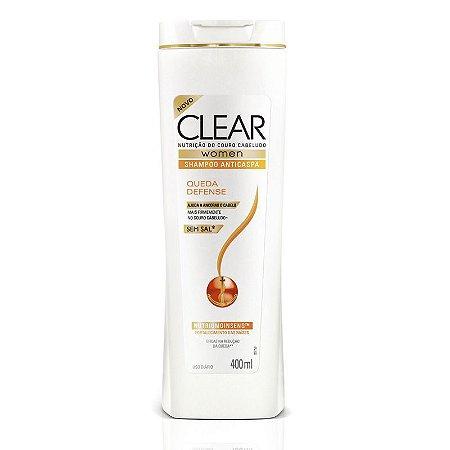 Shampoo Clear Anti Caspa 200ml Queda Defense