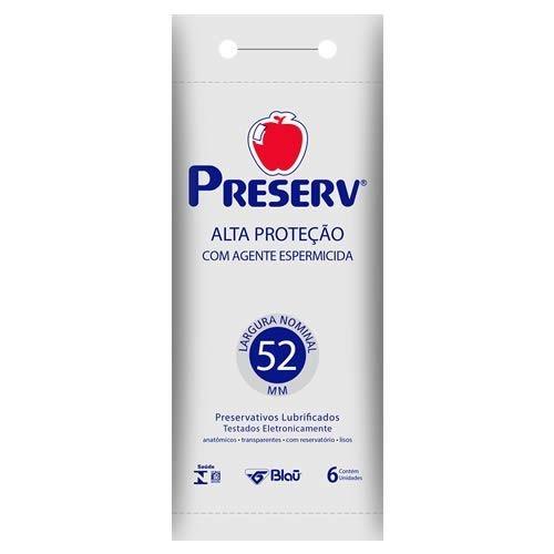 PRESERVATIVO ALTA PROTECAO ESPERMICIDA C/ 6
