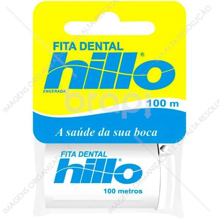 Fita Dental Encerada Hillo 100 metros