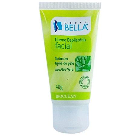 Creme Depilatorio Facial 40g Peles Normais Depil Bella