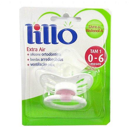 Chupeta Lillo Extra Air Silicone Tam 02 Ref.: 639010