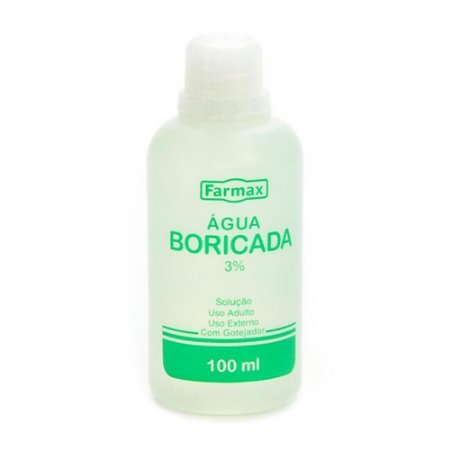 Agua Boricada Farmax 100ml