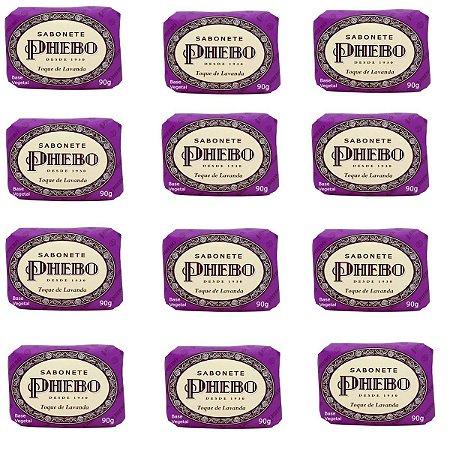 Sabonete Phebo Toque de Lavanda 90g (kit c/12un)