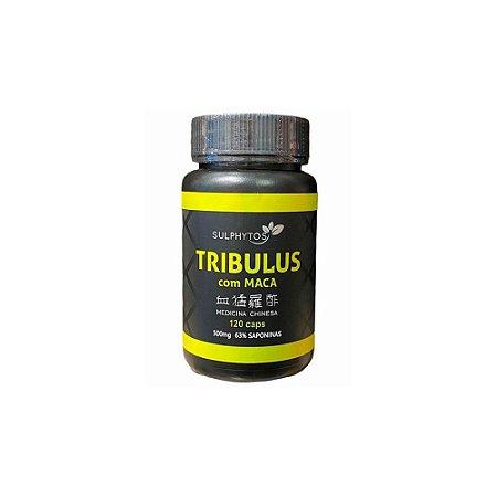 TRIBULUS COM MACA SULPHYTOS - 120 CAPS