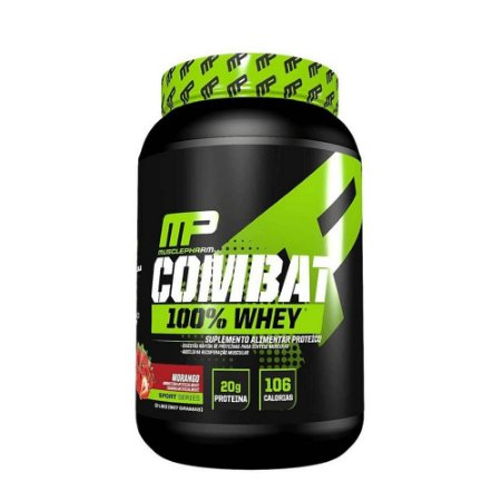 COMBAT 100% WHEY MUSCLEPHARM - 907G