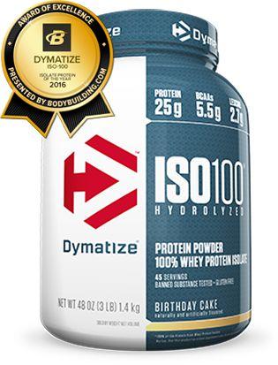 ISO 100 WHEY DYMATIZE - 2,3KG