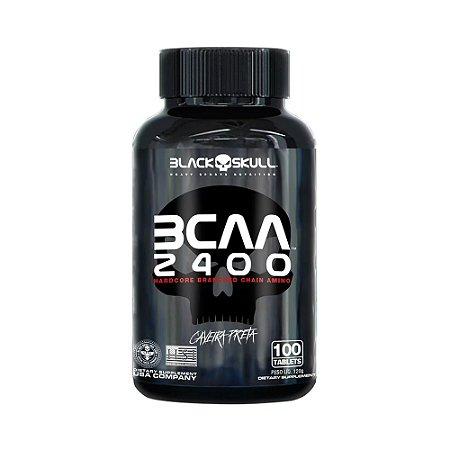 BCAA 2400 BLACK SKULL - 100 TABLETS