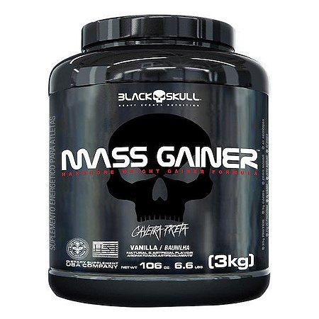 MASS GAINER BLACK SKULL (LINHA CAVEIRA PRETA) - 3KG